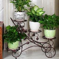 Iron Planter Stands