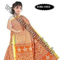 Zari Gadwaal Cotton Saree (1003)