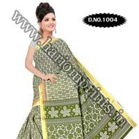 Zari Gadwaal Cotton Saree (1004)