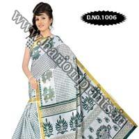 Zari Gadwaal Cotton Saree (1006)