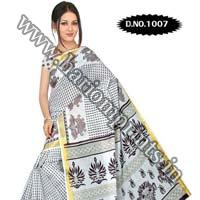 Zari Gadwaal Cotton Saree (1007)