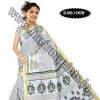 Zari Gadwaal Cotton Saree (1008)