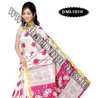 Zari Gadwaal Cotton Saree (1010)