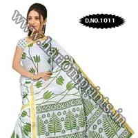 Zari Gadwaal Cotton Saree (1011)
