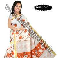 Zari Gadwaal Cotton Saree (1012)