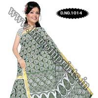 Zari Gadwaal Cotton Saree (1014)