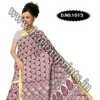 Zari Gadwaal Cotton Saree (1015)