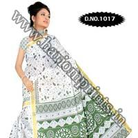 Zari Gadwaal Cotton Saree (1017)