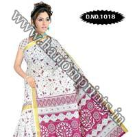 Zari Gadwaal Cotton Saree (1018)