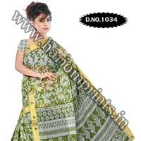 Zari Gadwaal Cotton Saree (1034)