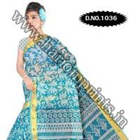 Zari Gadwaal Cotton Saree (1036)