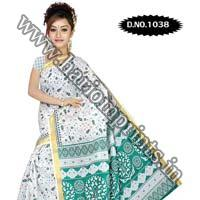 Zari Gadwaal Cotton Saree (1038)