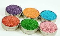 Colored Salt Granules