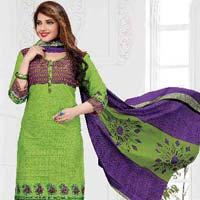 Cotton Unstitched Churidar Suits 02