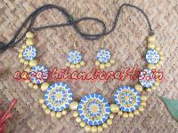 Terracotta Necklace Set 02
