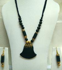 Terracotta Necklace Set 08