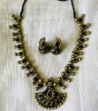 Terracotta Necklace Set (AT_1092)