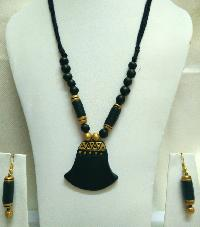 Terracotta Necklace Set (AT_1129)