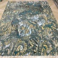 Hand Knotted Modern Design Woolen Carpets (GE-214)
