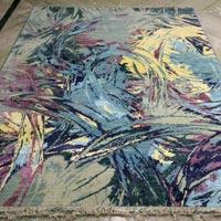 Hand Knotted Modern Design Woolen Carpets (GE-222)