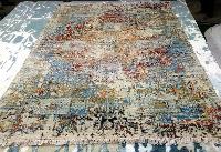 Hand Knotted Modern Design Woolen Carpets (GE-157)