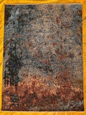 Hand Knotted Modern Design Woolen Carpets 03