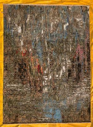 Hand Knotted Modern Design Woolen Carpets 04
