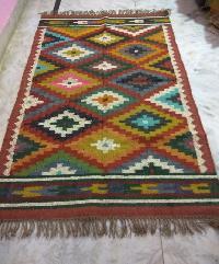 Wool Jute Rugs (GE-1108)