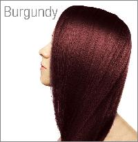 Burgundy Henna Color