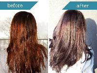 Dark Brown Henna Color