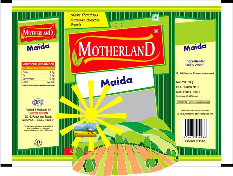 Motherland Maida (1 Kg.)