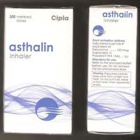 Albutarol (salbutamol) 100mcg Inhaler (Ventolin)