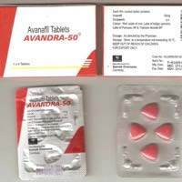 Avanafil 50mg (Stendra)