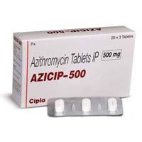 Azithromycin 250mg & 500mg (Zithromax)