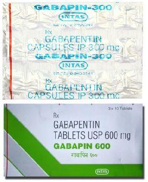 Gabapentin 300mg, 600mg, 800mg  (Gralise, Horizant, Neurontin, Gabarone)