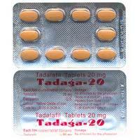 Tadalafil 20mg & 40mg (Cialis)