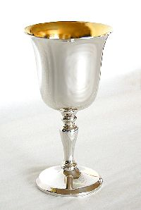 Silver Wine Goblets