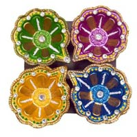 Decorative Kundan Diyas 02