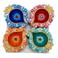 Decorative Kundan Diyas 03