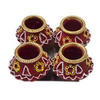 Decorative Matki Diyas 05