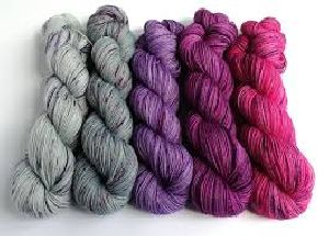 HANK DYED YARN