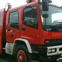 Fire Fighting Truck 02