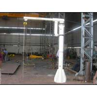 Jib Crane with Sliding Boom Type