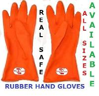 Safety Product (Rubber Gloves)