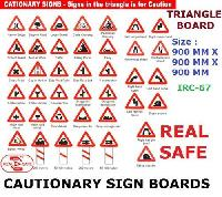 Sign Board (cautionary)