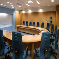 Plastic Modular Conference Table