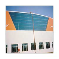 Multicolor Steel Structural Glazing