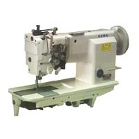 High Speed Double Needle Chain Stitch Sewing Machine