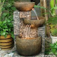 garden and indoor water fountains