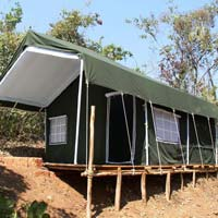 Jungle Safari Resorts Tents 01